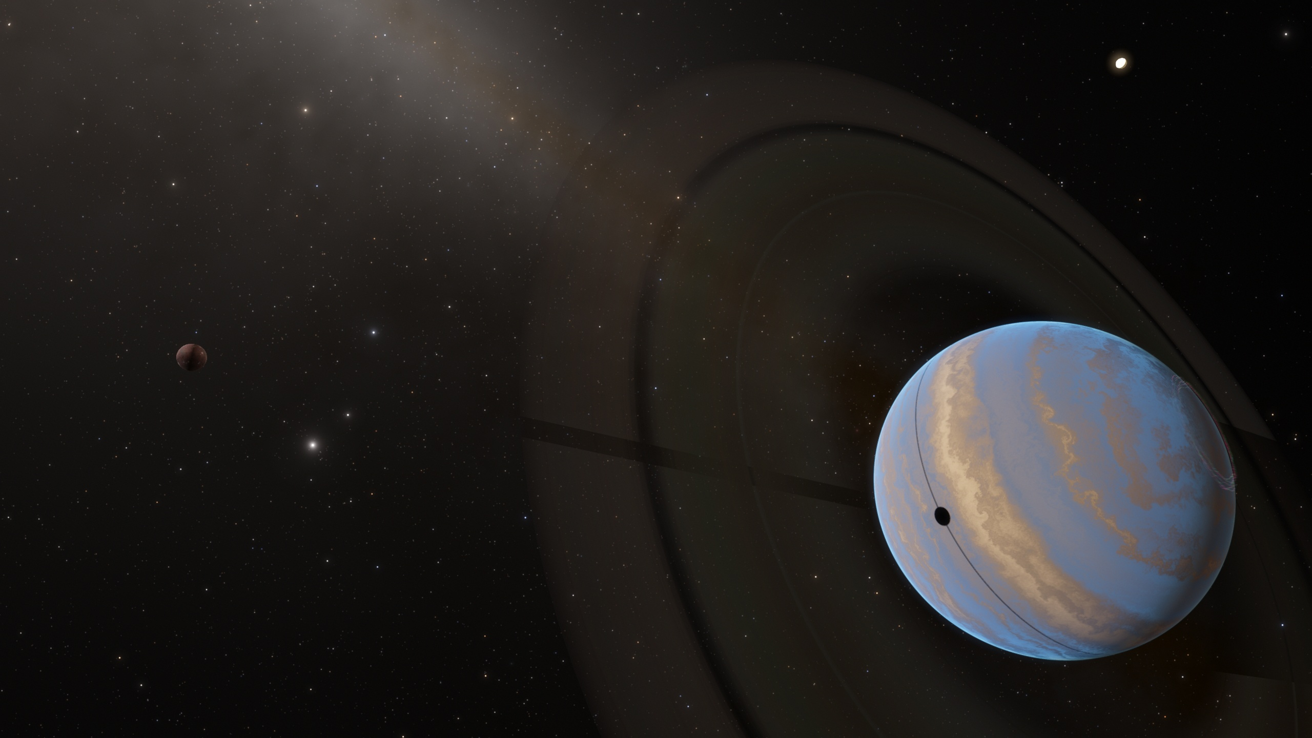 which planets have rings - HD 2560×1440