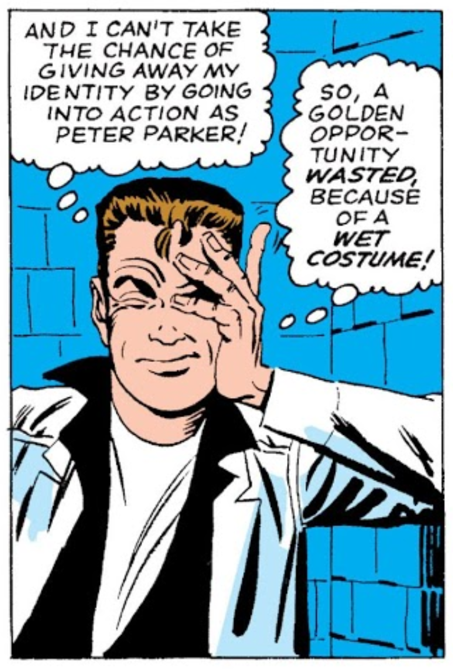 Searching for 'peter parker'