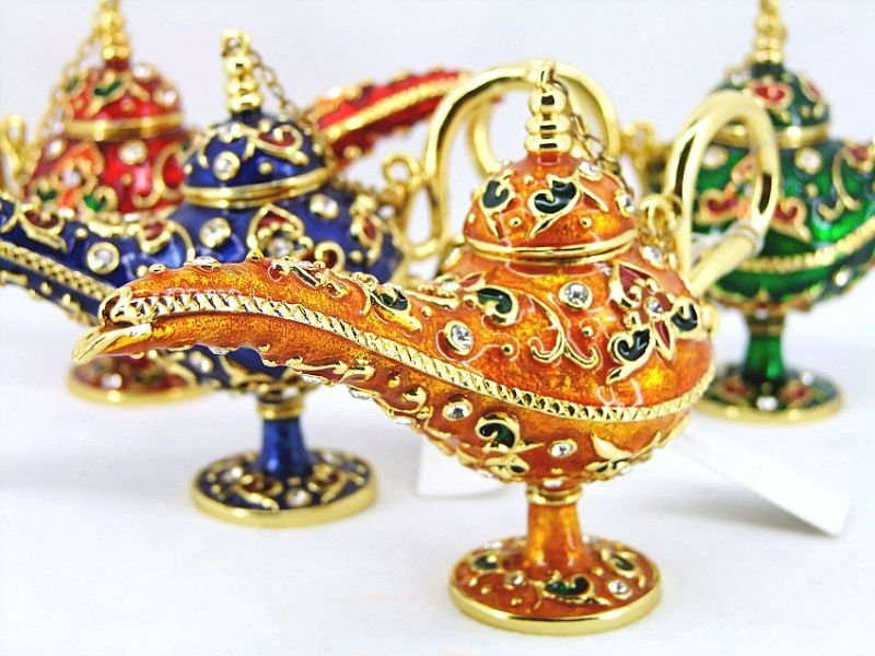 Jeweled Lamps